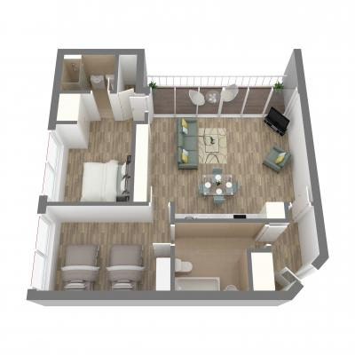 New Era 2 bedroom layout c